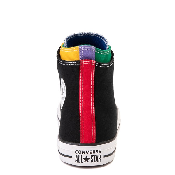 alternate view Converse Chuck Taylor All Star Hi Double Upper Sneaker - Black / MultiALT4