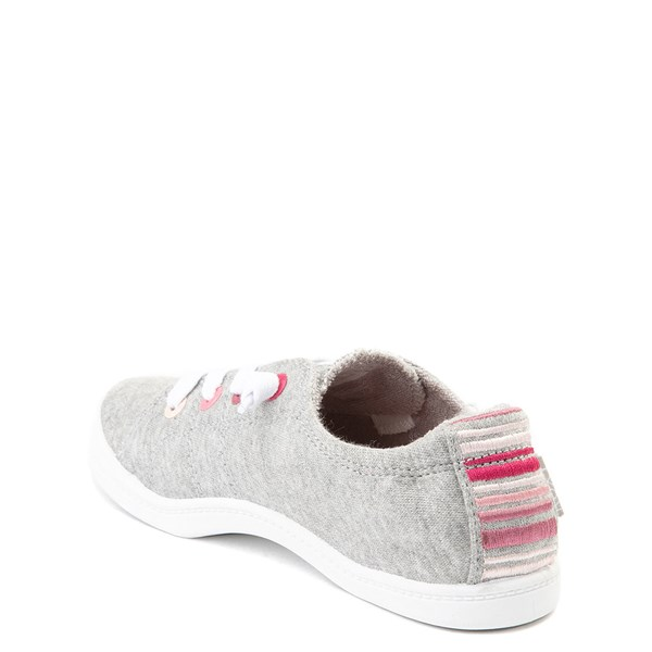 alternate view Roxy Bayshore Casual Shoe - Little Kid / Big Kid - GrayALT2