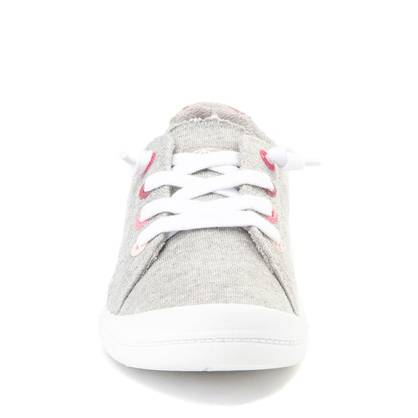 alternate view Roxy Bayshore Casual Shoe - Little Kid / Big Kid - GrayALT4