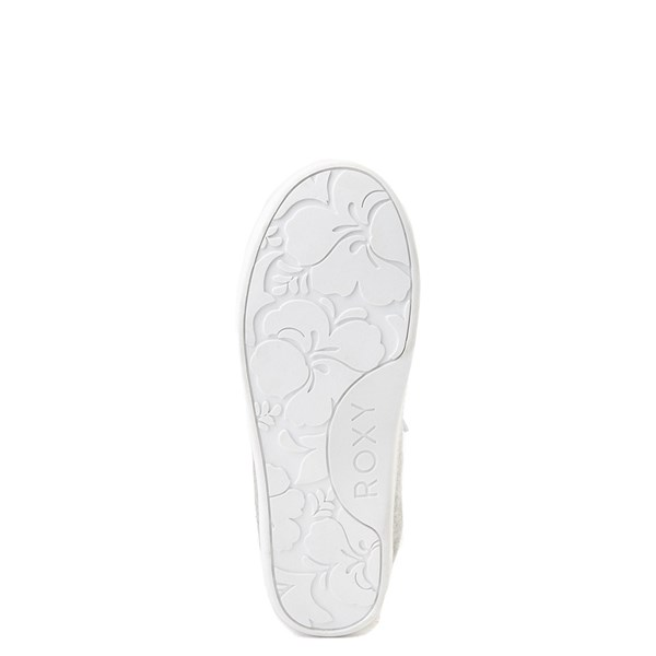 alternate view Roxy Bayshore Casual Shoe - Little Kid / Big Kid - GrayALT5