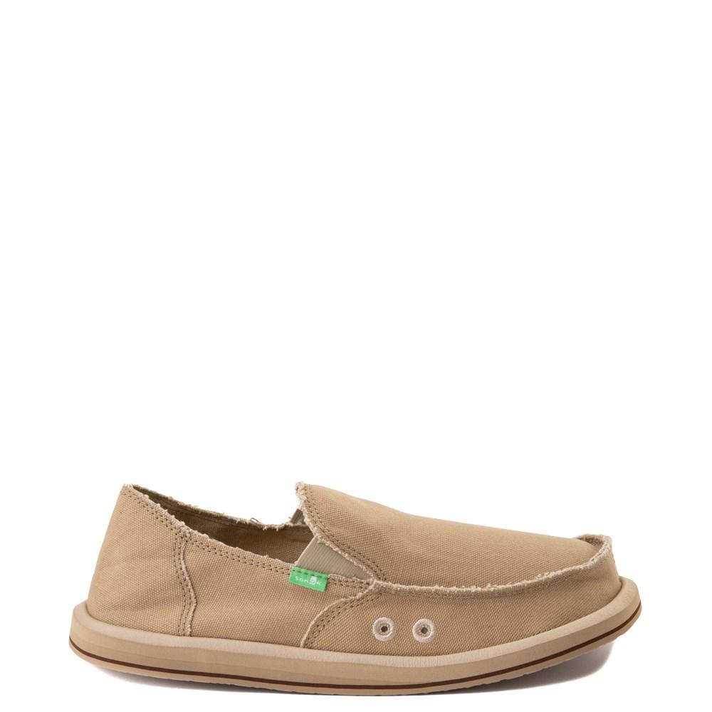 Mens Sanuk Vagabond Slip On Casual Shoe