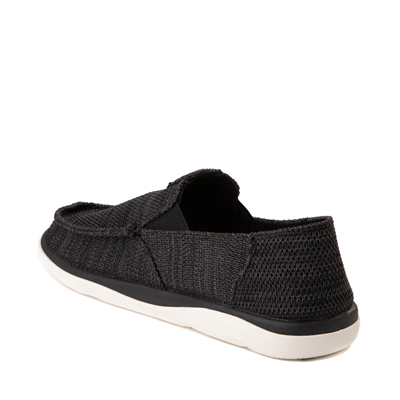 Alternate view of Mens Sanuk Vagabond Tripper Mesh Slip On Casual Shoe - Black