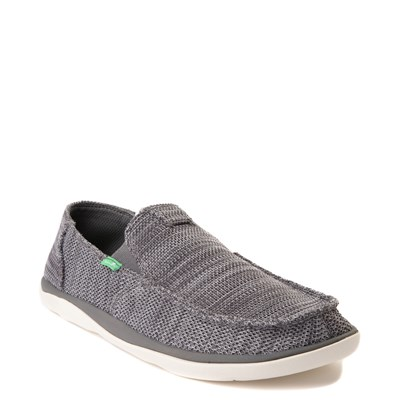 Alternate view of Mens Sanuk Vagabond Tripper Mesh Slip On Casual Shoe - Charcoal