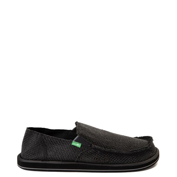 Mens Sanuk Vagabond Woven Slip On Casual Shoe
