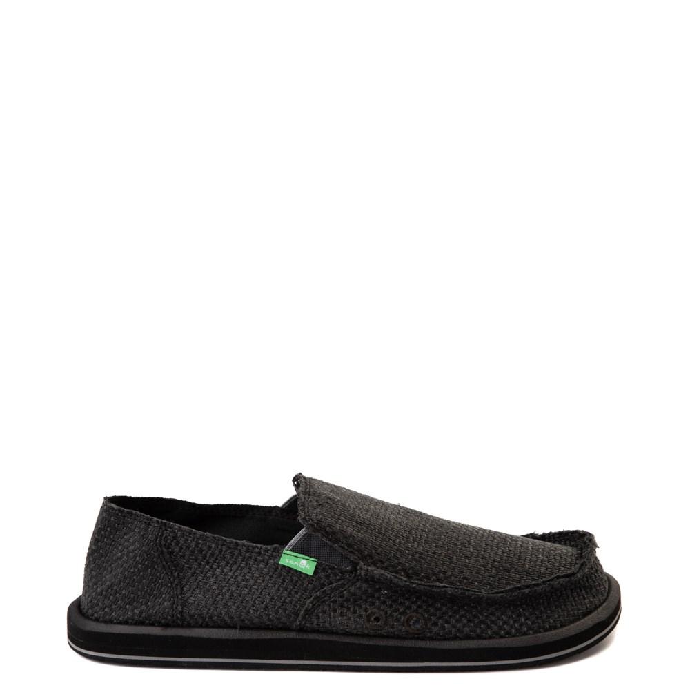 Mens Sanuk Vagabond Woven Slip On Casual Shoe