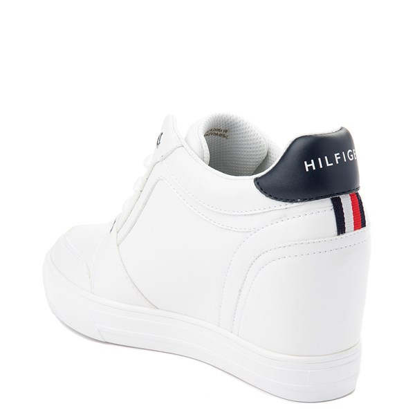 alternate view Womens Tommy Hilfiger Delsia Wedge Casual ShoeALT2