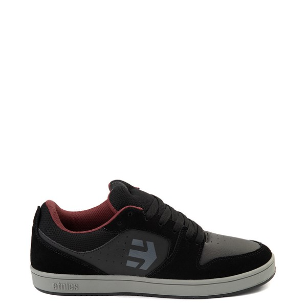 Main view of Mens etnies Verano Skate Shoe - Black / Gray / Red