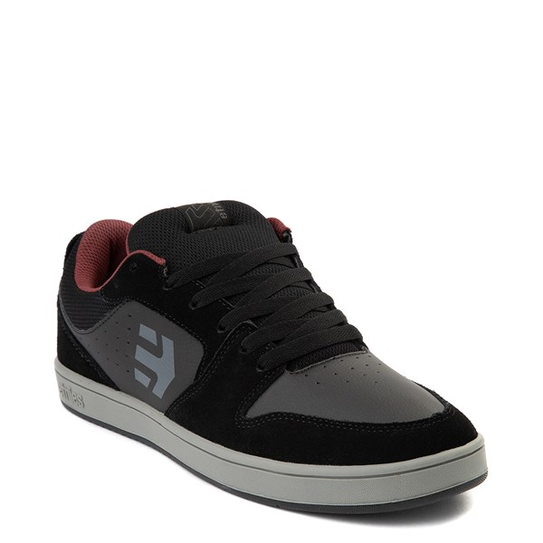 alternate view Mens etnies Verano Skate Shoe - Black / Gray / RedALT1