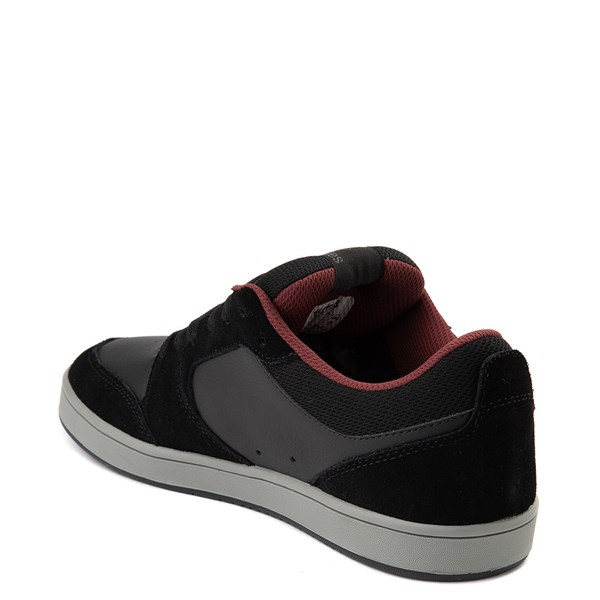 alternate view Mens etnies Verano Skate Shoe - Black / Gray / RedALT2