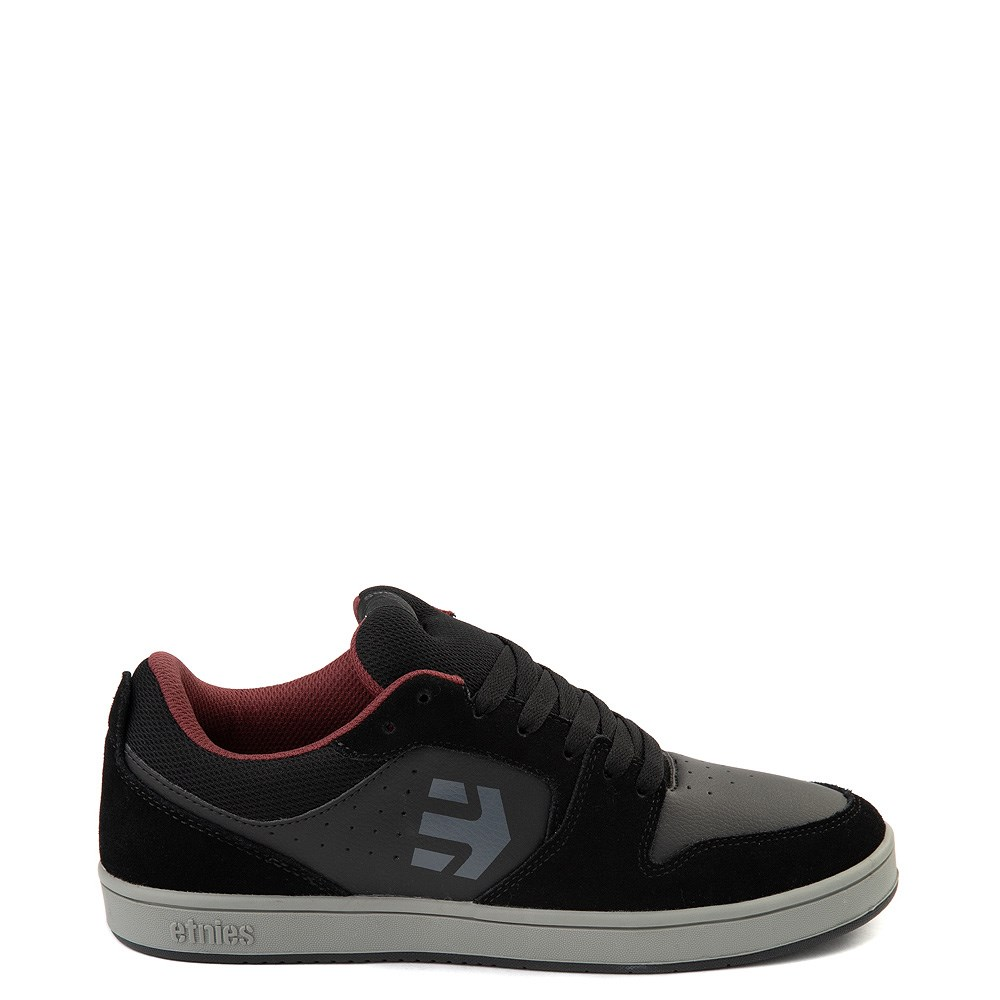 Mens etnies Verano Skate Shoe - Black / Gray / Red