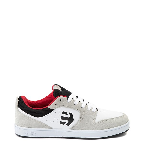 Main view of Mens etnies Verano Skate Shoe - White / Gray / Red