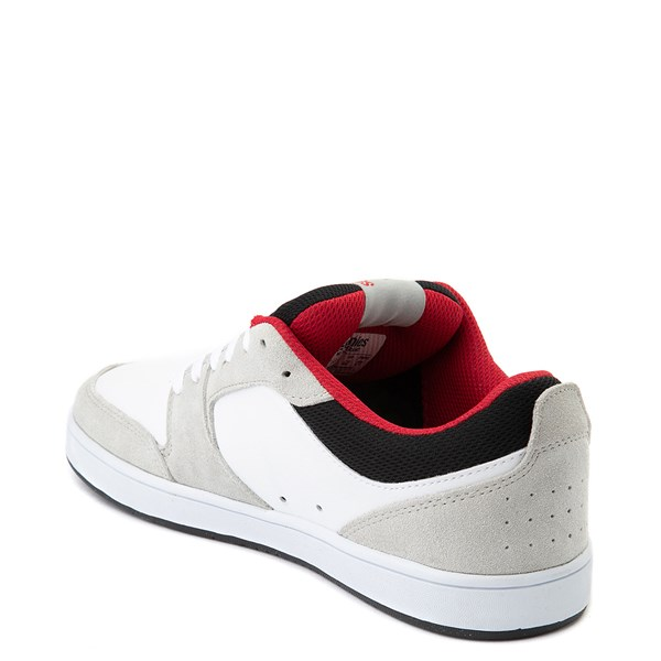 alternate view Mens etnies Verano Skate Shoe - White / Gray / RedALT2