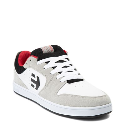 Alternate view of Mens etnies Verano Skate Shoe - White / Gray / Red