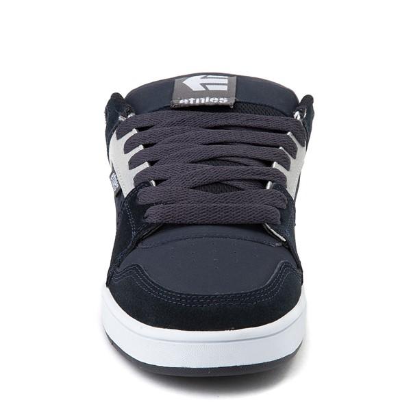 alternate view Mens etnies Rockfield Skate Shoe - Navy / Gray / WhiteALT4
