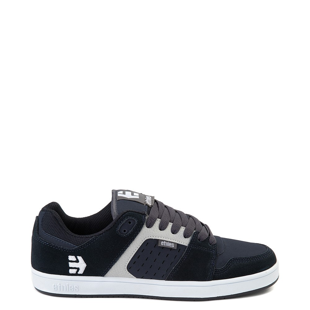 Mens etnies Rockfield Skate Shoe - Navy / Gray / White