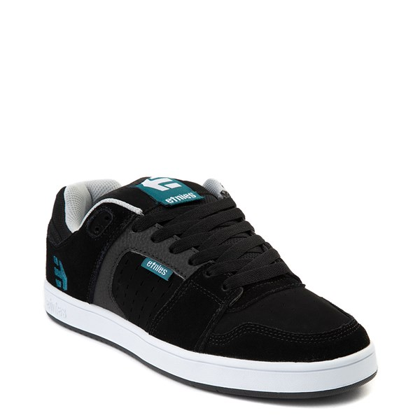 alternate view Mens etnies Rockfield Skate Shoe - Black / Blue / WhiteALT1