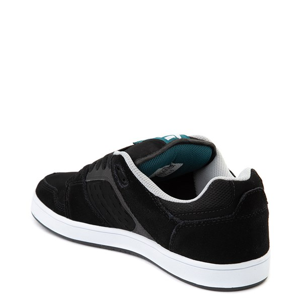 alternate view Mens etnies Rockfield Skate Shoe - Black / Blue / WhiteALT2