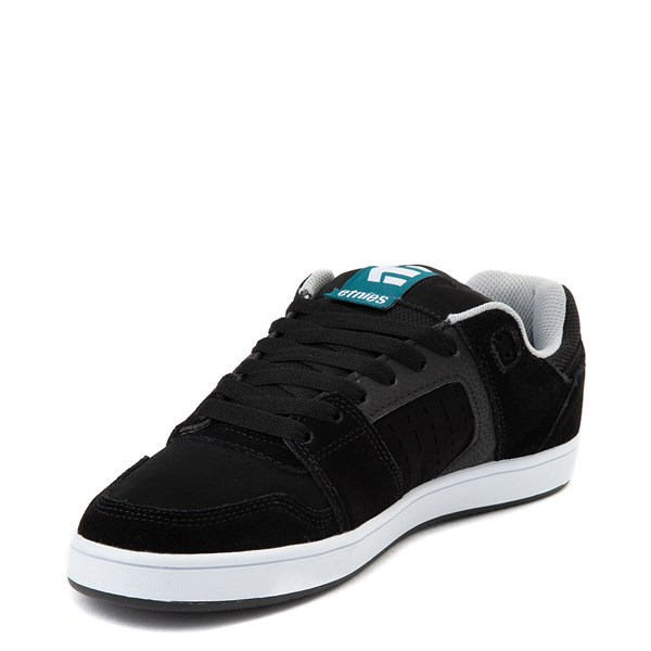 alternate view Mens etnies Rockfield Skate Shoe - Black / Blue / WhiteALT3