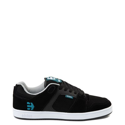 Main view of Mens etnies Rockfield Skate Shoe - Black / Blue / White