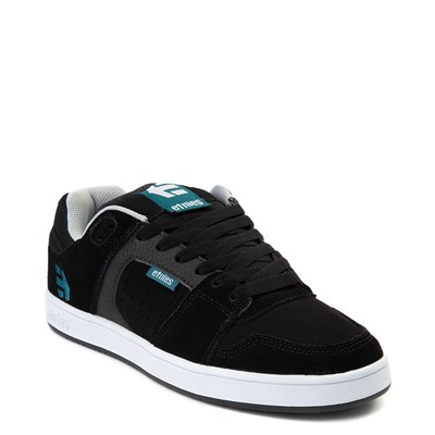 Alternate view of Mens etnies Rockfield Skate Shoe - Black / Blue / White