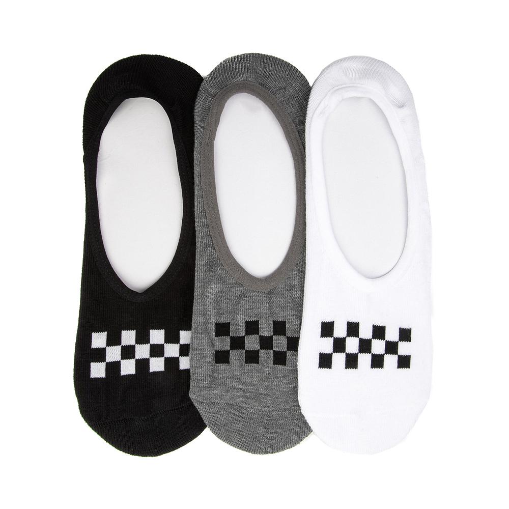 Mens Vans Checkerboard Liners 3 Pack - Multi