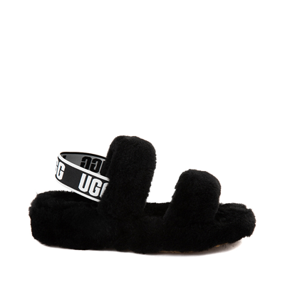 Main view of Womens UGG® Oh Yeah Slide Sandal - Black