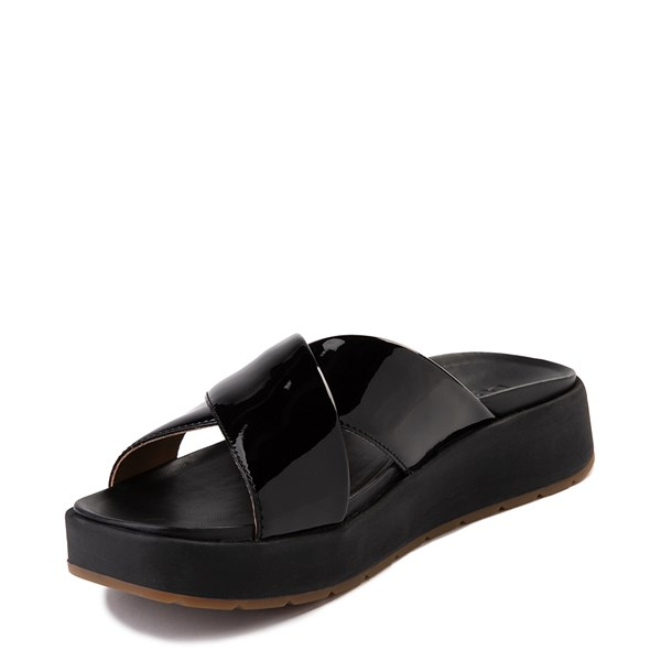 alternate view Womens UGG® Emily Slide Sandal - BlackALT3