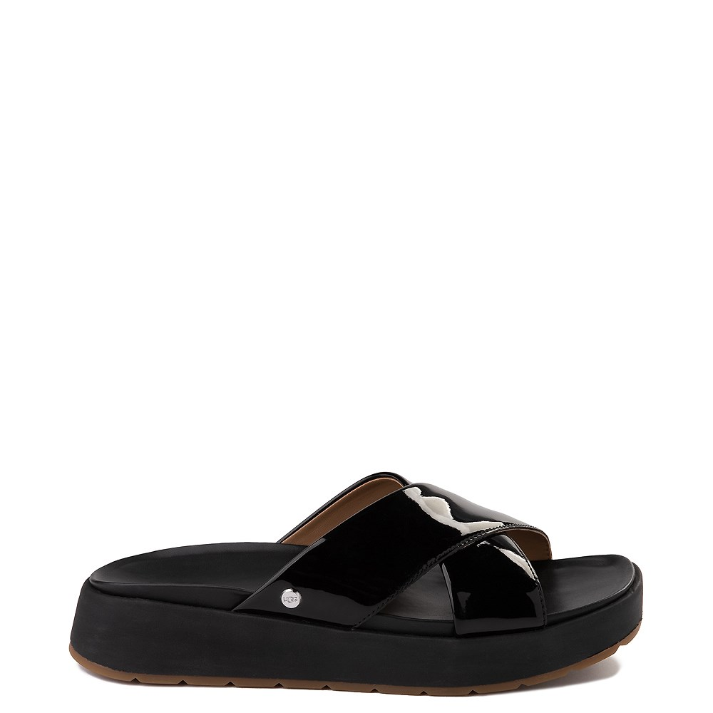 Womens UGG® Emily Slide Sandal - Black