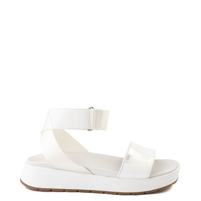 Main view of Womens UGG® Lennox Sandal - White