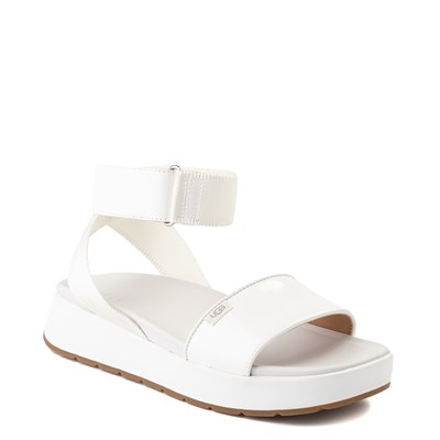 Alternate view of Womens UGG® Lennox Sandal - White