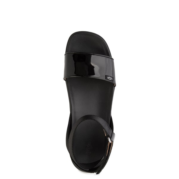 alternate view Womens UGG® Lennox Sandal - BlackALT4B