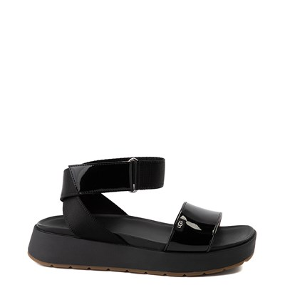 Main view of Womens UGG® Lennox Sandal - Black