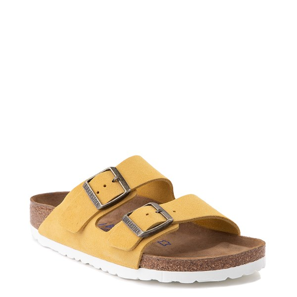 Alternate view of Womens Birkenstock Arizona Soft Footbed Sandal - Ochre