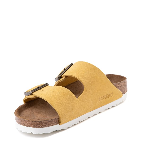 alternate view Womens Birkenstock Arizona Soft Footbed Sandal - OchreALT3