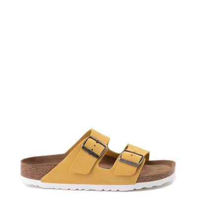 Main view of Womens Birkenstock Arizona Soft Footbed Sandal - Ochre
