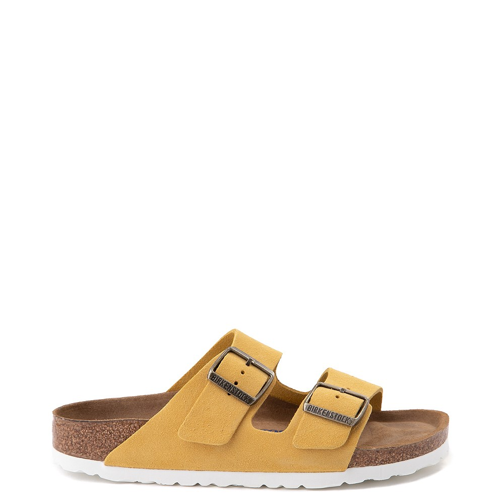 Womens Birkenstock Arizona Soft Footbed Sandal - Ochre