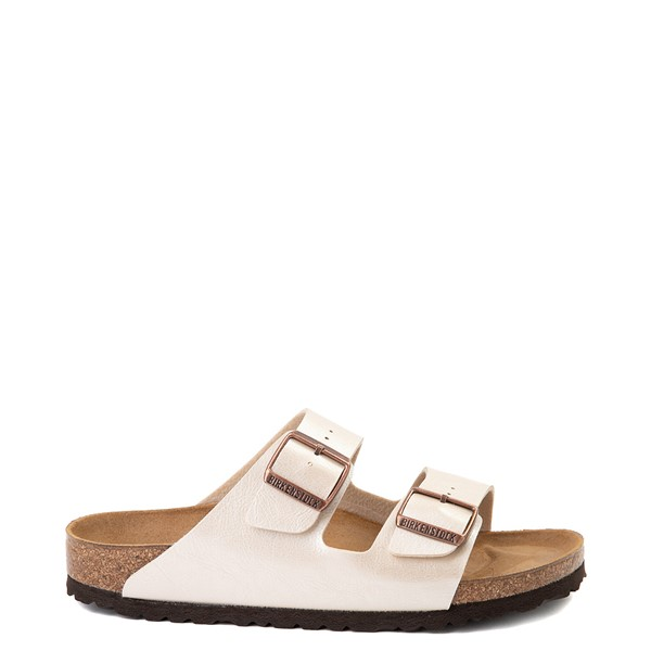 Main view of Womens Birkenstock Arizona Sandal - Graceful Pearl White