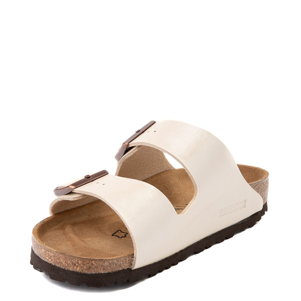 alternate view Womens Birkenstock Arizona Sandal - Graceful Pearl WhiteALT2