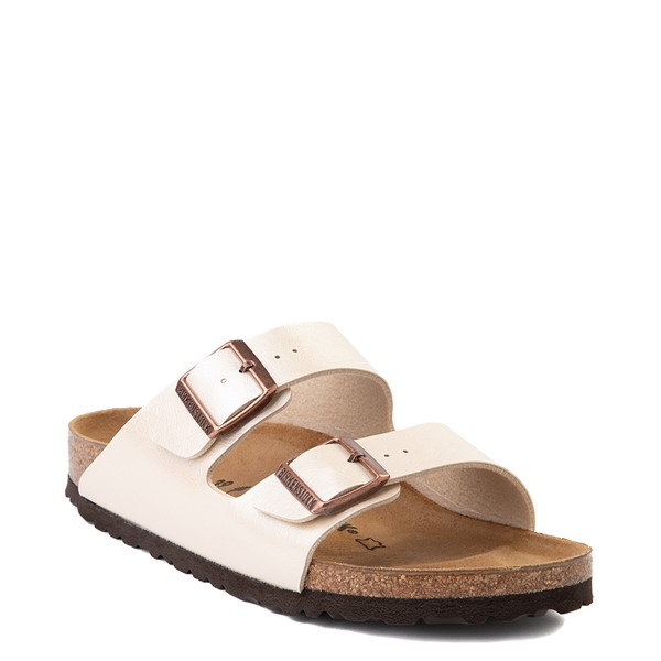 alternate view Womens Birkenstock Arizona Sandal - Graceful Pearl WhiteALT5