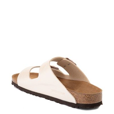 Alternate view of Womens Birkenstock Arizona Sandal - Graceful Pearl White
