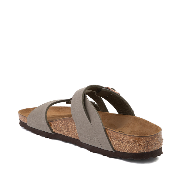 alternate view Womens Birkenstock Salina Slide Sandal - StoneALT1