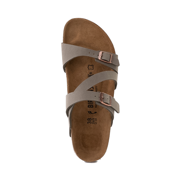 alternate view Womens Birkenstock Salina Slide Sandal - StoneALT2