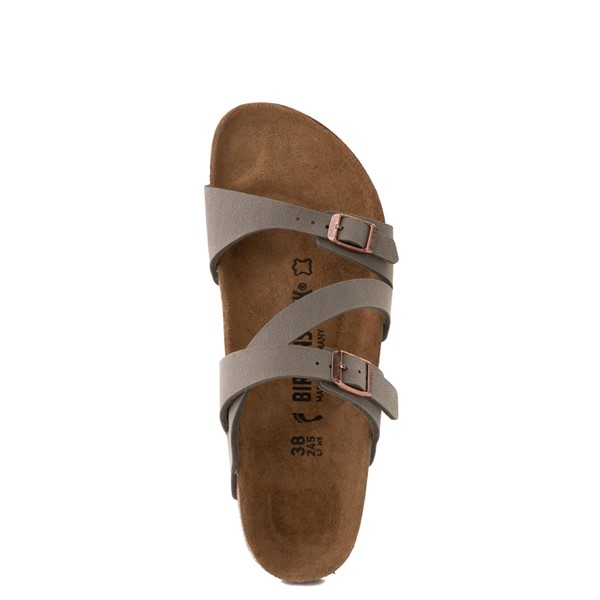alternate view Womens Birkenstock Salina Slide Sandal - StoneALT4B