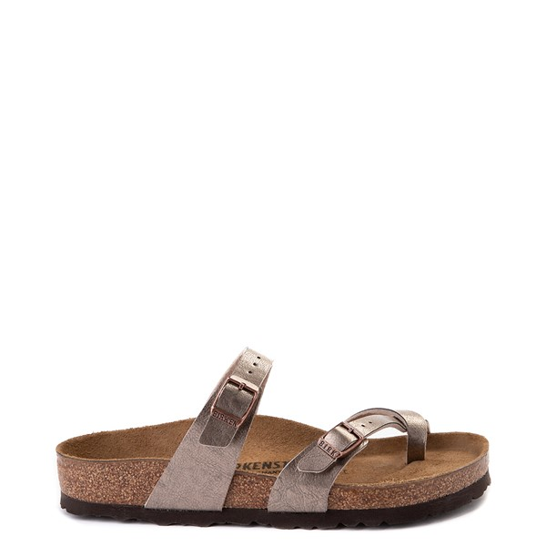 Main view of Womens Birkenstock Mayari Sandal - Metallic Taupe