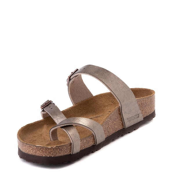 alternate view Womens Birkenstock Mayari Sandal - Metallic TaupeALT2