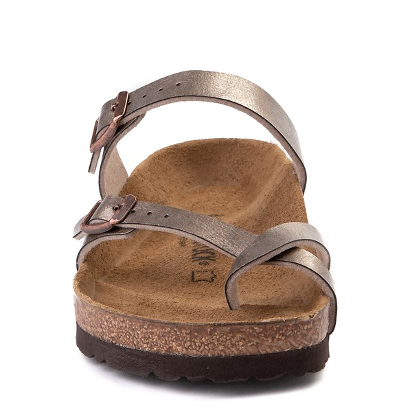 alternate view Womens Birkenstock Mayari Sandal - Metallic TaupeALT4