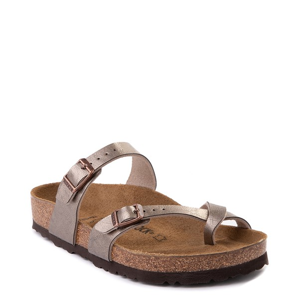 alternate view Womens Birkenstock Mayari Sandal - Metallic TaupeALT5