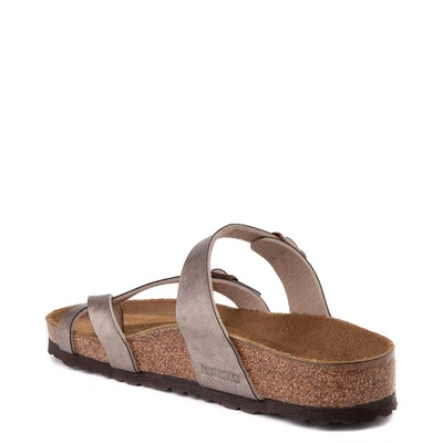 Alternate view of Womens Birkenstock Mayari Sandal - Metallic Taupe