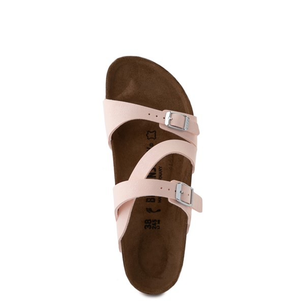 alternate view Womens Birkenstock Salina Slide Sandal - Light RoseALT4B