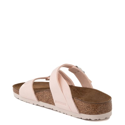 Alternate view of Womens Birkenstock Salina Slide Sandal - Light Rose